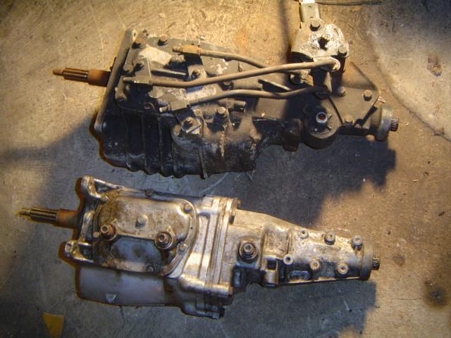 muncie m22 transmission identification