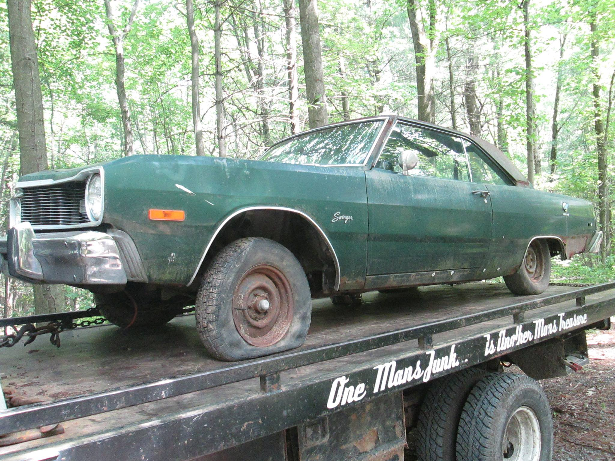 1975 Dodge Dart - Parting out 1967 - 1976 A- and 1970-1974 E ...